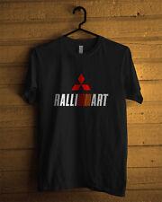 Mitsubishi Car Ralliart Racing Gildan T-Shirt Men or Women Cotton S to 2XL
