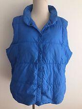 Lands' End Puffer Vest Blue Size XL (18-20)