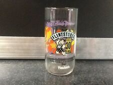 flintstones drinking glass the blessed event
