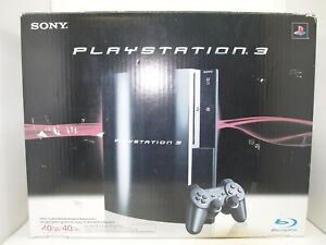 Sony PlayStation PS3 Fat 40GB CECHH01 Authentic Console BOX ONLY