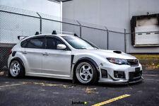 "Subaru Impreza Fender Flares wide body kit wheel arch 50mm (2.0"") 4pcs"