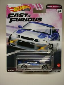 2020 Hot Wheels Car Culture Quick Shifters Fast & Furious Nissan Skyline GT-R 33