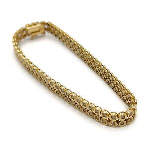 Jewelry Bracelet   Diamond 2.02ct Yellow Gold 1814456