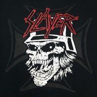 Slayer Men's 2XL T-Shirt Licensed Tour Rock Band Skull Soldier Iron Cross XXL