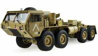 AMEWI U.S. Militär Scale Truck 8x8 1:12 mit Ladefläche RTR, sand #22390