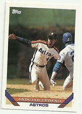 1993 Topps Andujar Cedeno Houston Astros #553