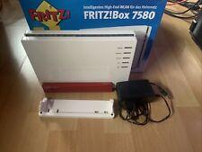 AVM FRITZ!Box 7580 -  VDSL DSL Modem Fon WLAN VOIP LAN Router OVP