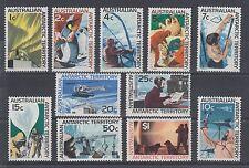 Australian Antarctic Territory Sc L8-L18 Mnh. 1966-1968 Anarctic Views, Vf