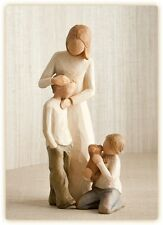 Willow Tree Mother with Two Sons Figurines New in Gift Boxes