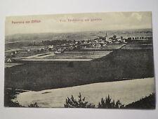 Panorama von Zifflich - Vom Teufelsberg aus gesehen - 1909 Zyfflich / AK