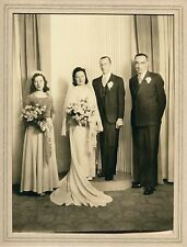 Large Wedding Portrait, by Shaw, 1943, In Studio Folder