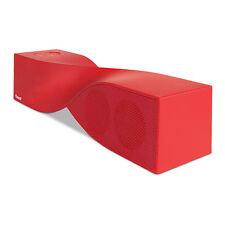 iSound Twist Rechargeable Portable Bluetooth Speaker & Speakerphone - Red