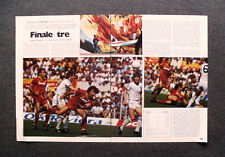 AR43 - Clipping-Ritaglio -1984- COPPA DEI CAMPIONI , ROMA-DUNDEE UNITED 3-0