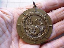 Ancienne Médaille Semaine Pêche Sportive du Centre Nautique de Frontignan 1985