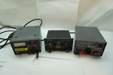 MILITARY SURPLUS RADIO SET CONTROL C-3835 ARC-54 SAMLEX REGULATED DC POWER LOT