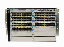 HPE ProCurve J8698A 5412zl w/ J8726A, J8702A, J9307A, J8706A, J8705A, J8712A