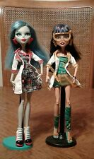 Mattel Monster High Mad Science Lab Partners Ghoulia Yelps & Cleo De Nile Dolls
