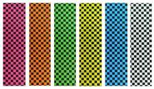 """Skateboard Checker Grip Tape 9"""" x 33"""" Multiple Colors! GripTape."""
