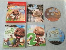 LITTLE BIG PLANET AND LITTLE BIG PLANET 2 FOR THE PLAYSTATION 3 TESTED FREE SHIP