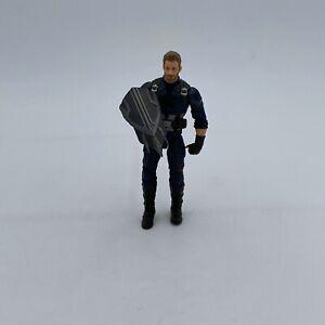"Marvel Legends Avengers Infinity War Thanos BAF Wave Captain America 6"" Figure"