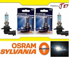 Sylvania Silver Star Halogen Bulb H10 9145 45W Fog Light Replace Legal DOT Lamp