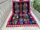 Handmade Moroccan Vintage Wool Rug Azilal Berber Rug Beni Ourain Tribal Carpet