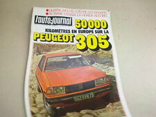L AUTO JOURNAL - N° 11  - ANNEE  1978  *