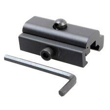 Quick Detach cabestrillo giratorios Adaptador Bípode Rifle Montaje Giratorio para la caza Weaver
