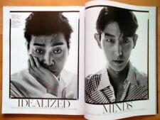 Lee Jun Ki Gi/Cuttings 8P---Magazine Clippings/Vogue Korea/July 2017