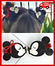 Girls Hair Bow Hairpin Hello Kitty Minnie Mouse Ears Barrette Children Clip Cute