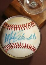 Mike Schmidt Vintage Game Used Autographed Charles Feeney Pres. Ball