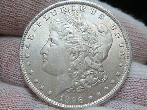 1896 P Silver Morgan Dollar