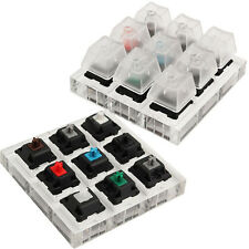 Acrylic Keyboard Tester Kit Clear Plastic Keycap Sampler For Cherry MX Switches
