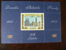 New Zealand Dunedin Philatelic Society 90th Jubilee 2003 mint souvenir stamp