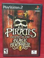 Pirates: Legend of the Black - PS2 Playstation 2 Game Tested Working Complete