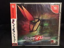 Sega Dreamcast Game Border Down Rare New Sealed Unopened US Seller