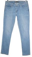 Señoras para mujer Levis Skinny Jeans Azul Tiro Bajo Talla 12 W30 L32