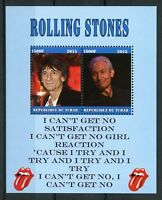 Chad 2015 CTO Rolling Stones Ronnie Wood 2v M/S Music Famous People Stamps