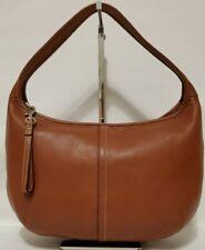 VTG C0ACH #F12347 Med Brown Leather Hobo/Shoulder Bag/Handbag/Purse in GUC