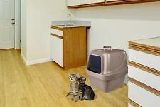 Van Ness CP66 Enclosed Sifting Cat Litter Pan - Beige