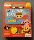 MY FANTASTIC FOAM - MAKES 20 W/ 200+ PIECES KIDS  ACTIVITY BOOK & CRAFT KIT NEW