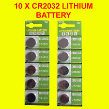 10 X Genuine CR2032 3V Lithium Batteries Button/Coin Cells Batteries LONG EXPIRY
