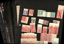US, Excellent accumulation of OLD Mint Stamps in stock pages