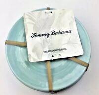 NWT Tommy Bahama Aqua Melamine Plates Small Teal Set Of 6 BRAND NEW