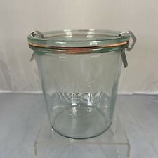 Vintage Weck Rundrand Glas Glass Jar Strawberry Canning Kitchen Country Rustic