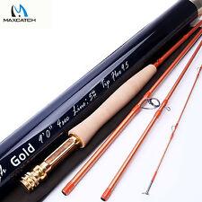 Skyhigh Gold 9FT #5WT 4pcs Fly Fishing Rod IM12 Toray Carbon Tip Flex 9.5 & Tube