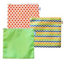 Reusable Cloth Sandwich Bags - Set of 3 - Spunky Collection