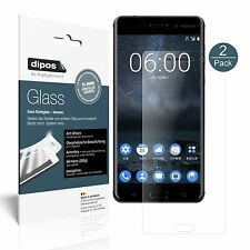 2x Nokia 6 Screen Protector matte Flexible Glass 9H dipos