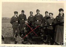 11430/  Originalfoto 6x9cm, Ausbildung an der Flak 38