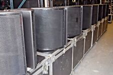 EAW SPEAKER SM12 2-WAY FULL RANGE STAGE MONITOR W/RD CASE (PAIR)